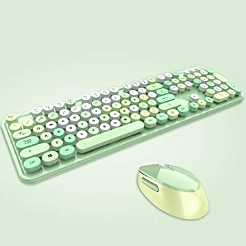 DC Wesley - Teclado y ratón combinado, 2,4 GHz USB ...