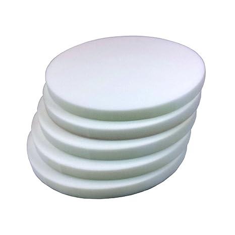 Placa de espuma (redondo) 40 cm, grosor 3 cm RG40 Juego de 5
