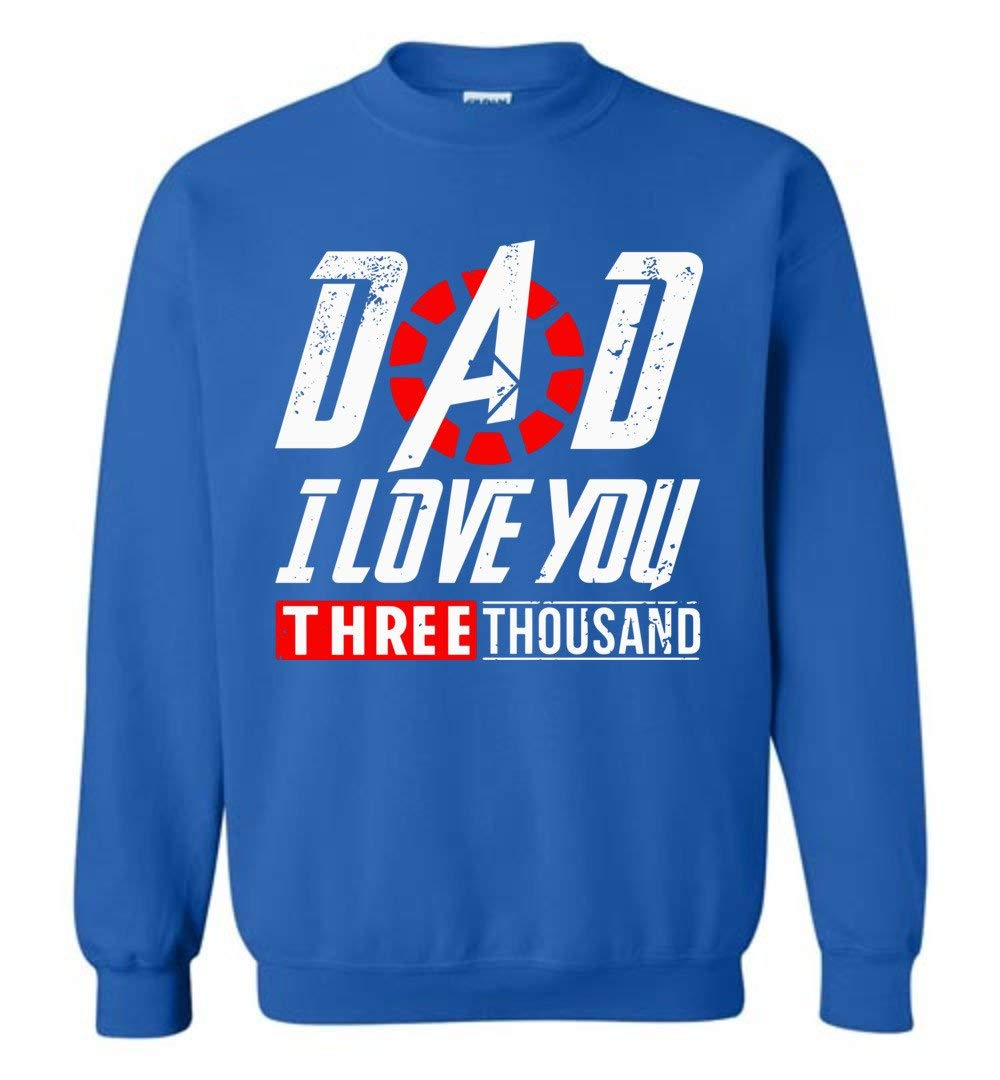 Dad I Love You 3000 Times Daughter Vintage Shirts