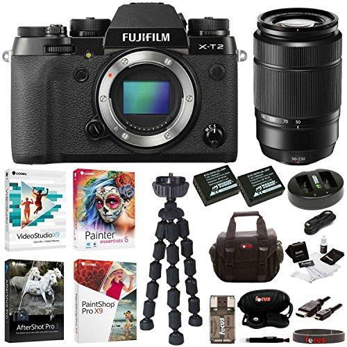 Fujifilm X-T2 Mirrorless Digital Camera with 50-230mm F4.5-6