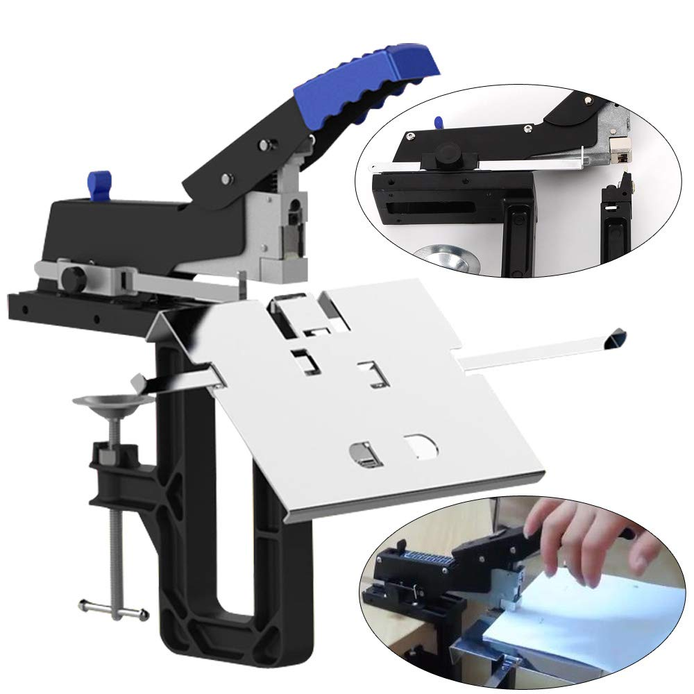 TFCFL Professional Manual Dual Flat Nail Saddle Stitch Stapler Binding Machine Binder Staplers Desk Accessories by TFCFL