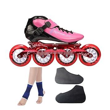 Zapatos De Patinaje De Velocidad De Fibra De Carbono Zapatos De Carreras Zapatos De Patinaje Sobre