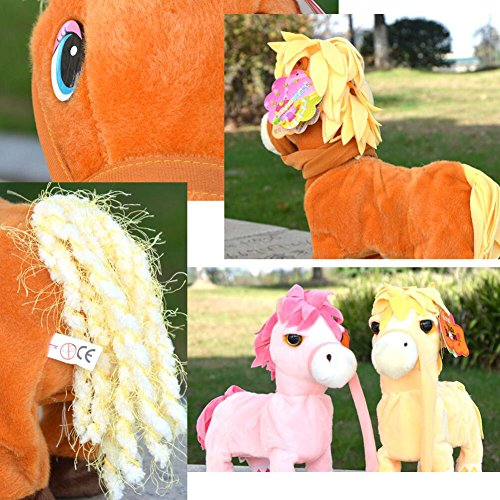 amarispa Para off Walking Plush Juguetes Niños Horse En Toy Pet pl 85 1JlKTcF