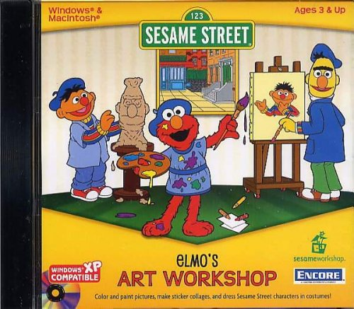 SESAME STREET ELMO'S ART WORKSHOP Sesame Street Art Workshop