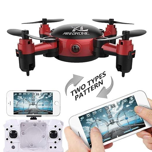 SCDX5 Mini dron para cámara, Brazos Plegables, Quadcopter VR Modo ...