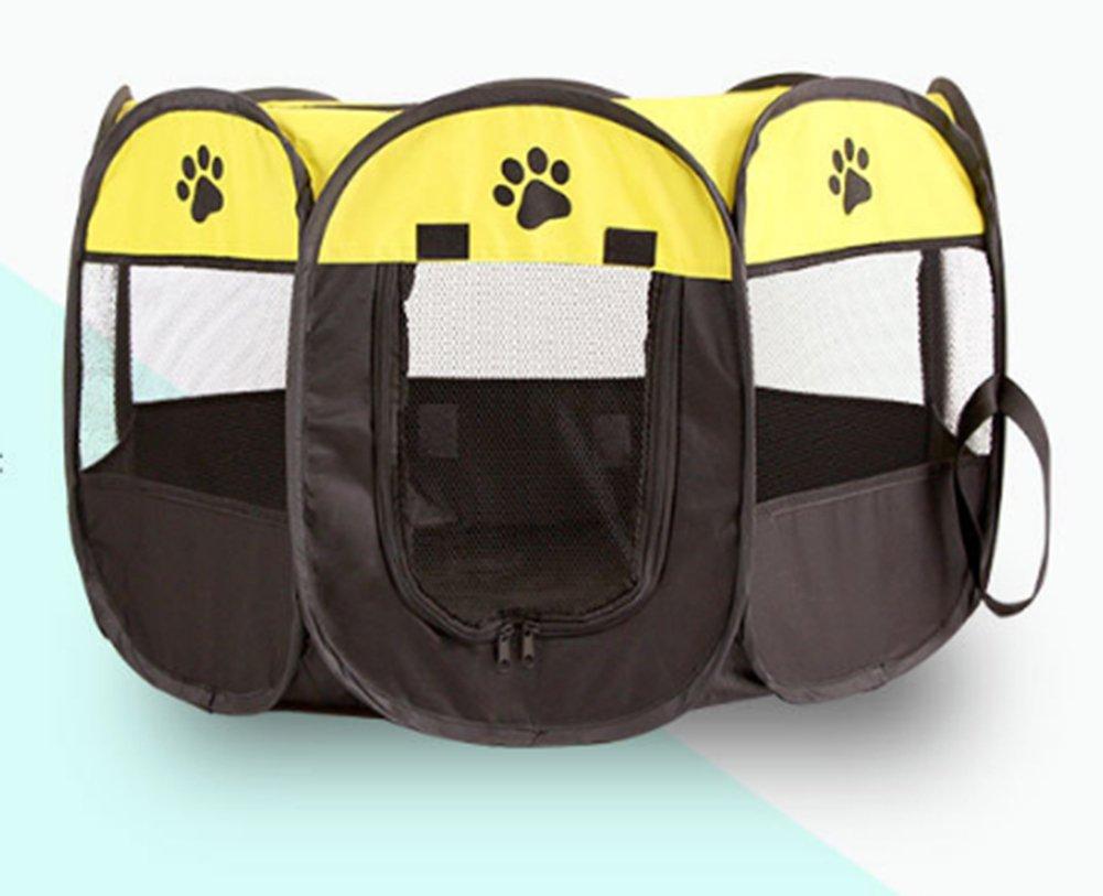 Cama para mascotas, portátil, plegable, de tela, para mascotas, perros, gatos, conejos, cobayas, juguetes, correr, jaula de juegos de 4 colores: Amazon.es: ...