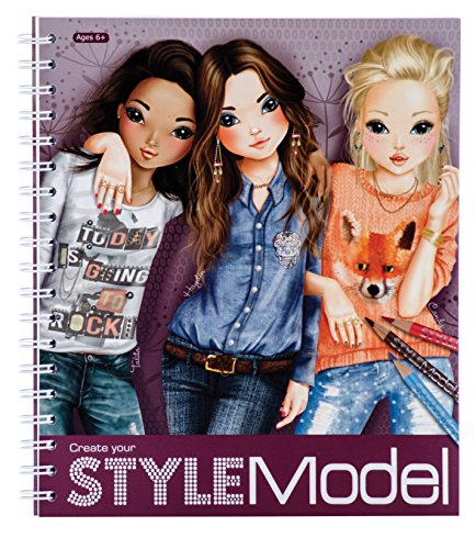 StyleModel Create Your Style Model (Top Model Coloring Book compare prices)