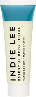 product image for Indie Lee Essential Body Lotion - Daily Moisturizing Body Butter with Organic Ingredients, Shea + Cocoa Butter - Hydrating Cream for Soft, Supple Complexion - For All Skin Types (1oz / 30ml)