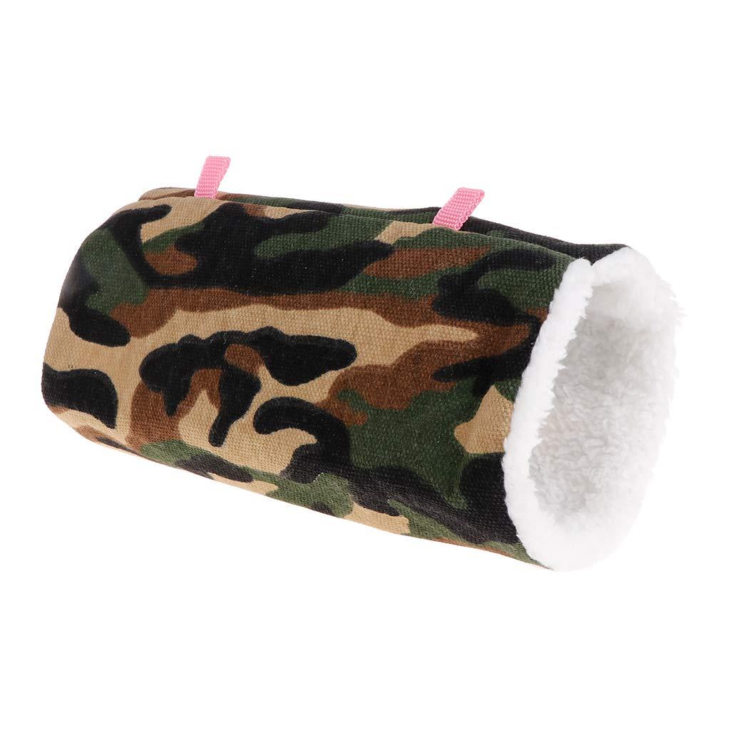 XMTPF - Hamaca Colgante para Mascotas, Suave, cá lida, para Invierno, para Mascotas, Juguetes, tú nel, Cama de Dormir, Hamster y Ardilla cálida túnel