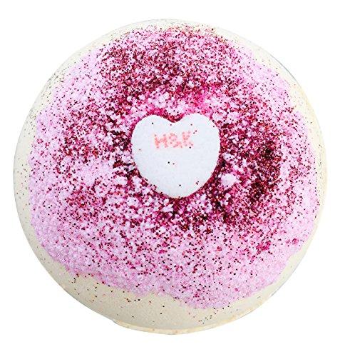 (XOXO HUGS & KISSES Bath Bomb by Soapie Shoppe)