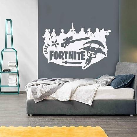 Ceselavie Fortnite Stickers Pvc Creativo Camera Dei Bambini