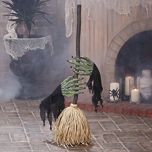 Dancing Broom with Witch Hands - Halloween (Halloween Decorations Oriental Trading)
