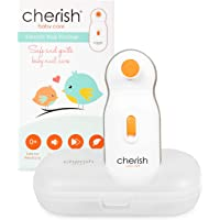 Electric Baby Nail File: Baby Nail Trimmer for Infant and Toddler: Safer Than Baby Nail Clippers