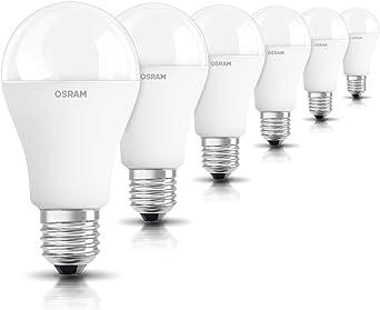 OSRAM 6-pack de bombilla LED de 14.5 W - Equivalente a 100 W, luz ...