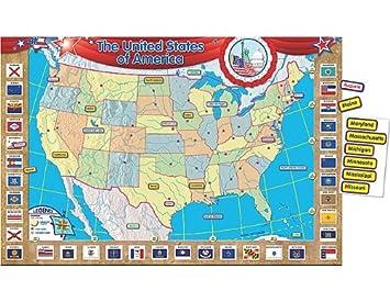 Teacher Created Resources US Map Bulletin Board Display Set (4403)