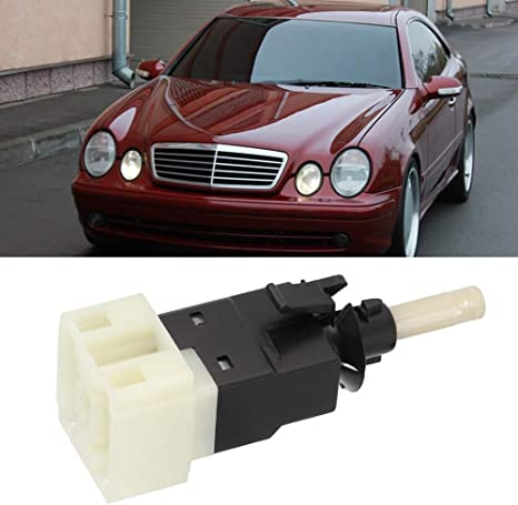 Car Brake Light Switch Car Brake Pedal Light Lamp Switch for W210 W208 W163 W203 Replacement OE 0015456409