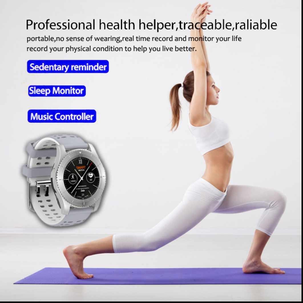 Smart Watch Reloj Inteligente Reloj Deportivo con Podómetro ...