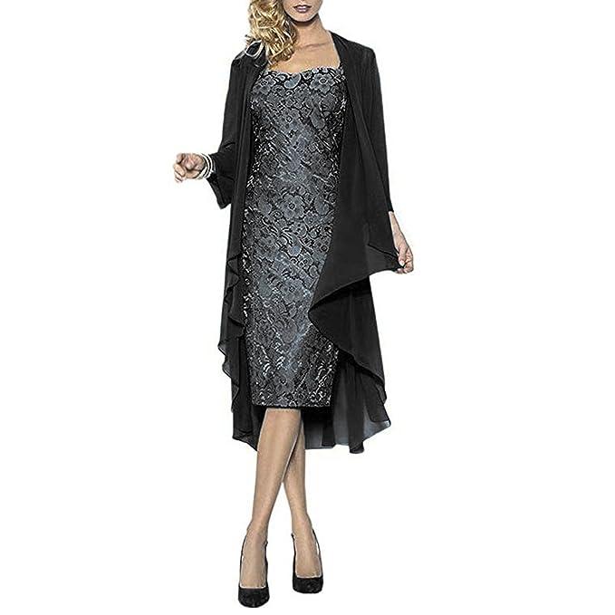 Amazon.com: BridalAffiar 2018 - Vestido corto de gasa para ...