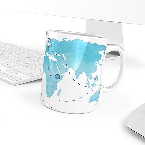 World map mug customisable mug travel mug holiday memory world map mug customisable mug travel mug holiday memory travel memory gumiabroncs Image collections