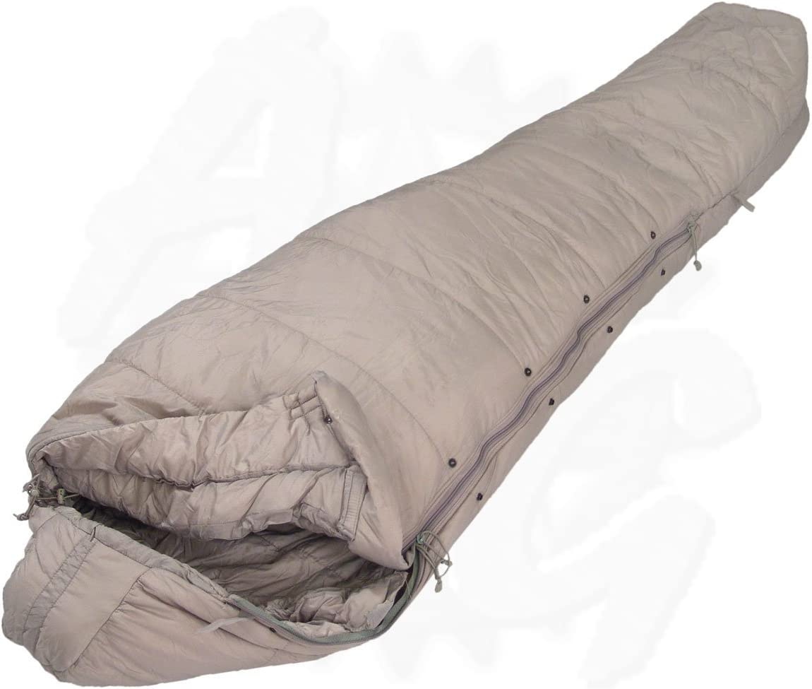 Urban Grey Intermediate Sleeping Bag – ACU – Part of 5 Piece Military Modular Sleep System