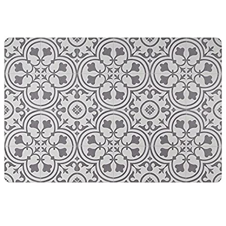 Amazon.com : Vinyl Floor Mat, Durable, Soft and Easy to Clean, Ideal ...