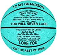 Engraved Personalized Basketball Personalized Basketball for Daughter Son Granddaughter Wife Husband Birthday