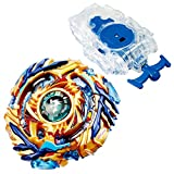 TAKARA TOMY by TheJD Beyblade Burst Starter B-79 Drain Fafnir 8 Nt Beyblades high performance battling top with B-99 Bey String Launcher L Clear White