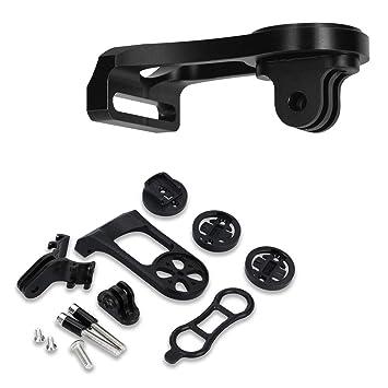 5adac411e kwmobile Soporte de GPS para Garmin Edge/Bryton Rider/CatEye - Base y  sujeción para Sistema de navegación para el Manillar de Bicicleta y Moto:  Amazon.es: ...