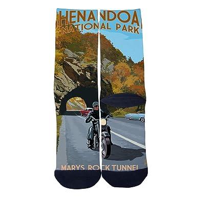 Shenandoah National Park Poster Socks Mens Womens Personality Custom Casual Socks Creative Fashion Sports Crew Socks