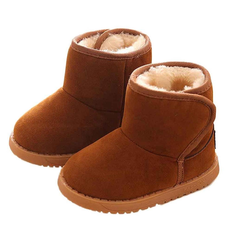 Nicerokaka Baby Winter Child Style Cotton Warm Snow Boots Amazon