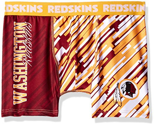 Washington Redskins Wordmark Underwear Extra Large (Redskin Boxers)
