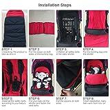 Kidsidol Baby Sleeping Bag Universal Bunting Bag