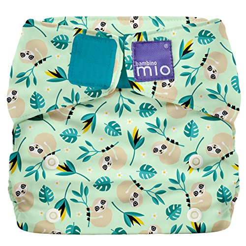 - Bambino Mio Miosolo All-in-One Cloth Diaper, Swinging Sloth