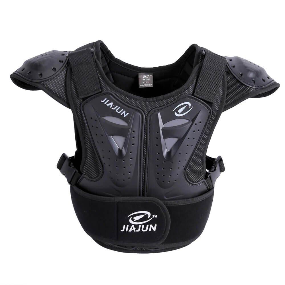 JIAJUN Hi8Motocicleta Armor Chaleco Espalda protección niños para Ciclismo esquí equitación, diseño de monopatín diseño de monopatín