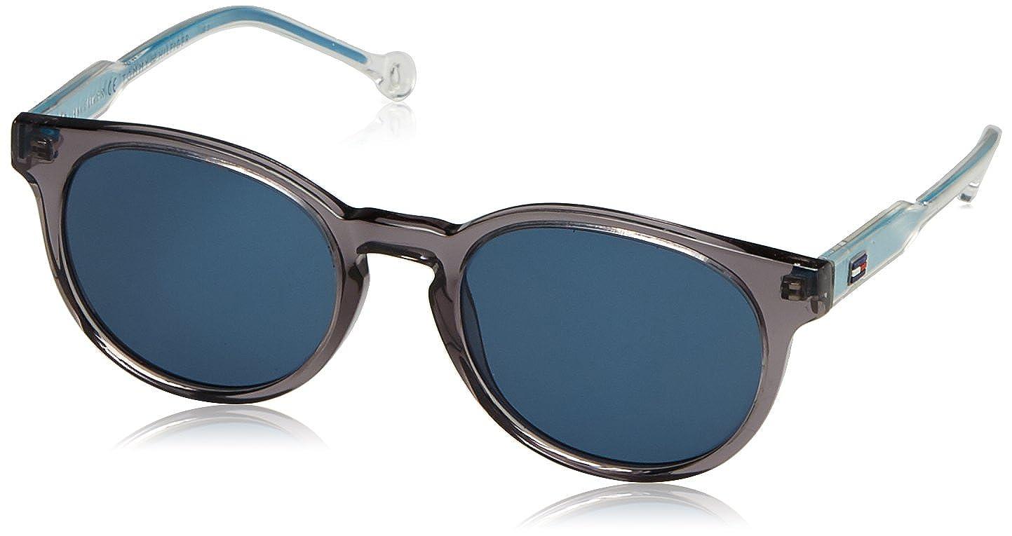 Tommy Hilfiger Unisex-Adult's TH 1426/S 8F Sunglasses, Grey Cryal Blue, 48 Y60 TH1426/S8F_Y60-48