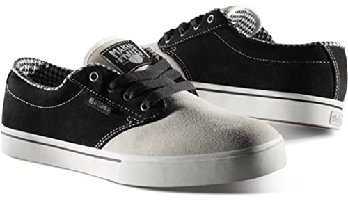Etnies Skate Shoes Makia Jameson 2 Grey / Black - Sneaker Skate Shoes [Grey / Black] XKuTPR