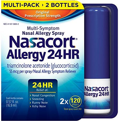 Nasacort Nasal Spray, 16.9 ml (2 (Best Nasal Spray)