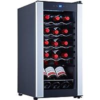 STAIGIS 15 Bottle Wine Cooler Refrigerator – Freestanding Wine Fridge w/ 41-64°F Temperature Stability Function…