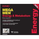 GNC Mega Men Energy and Metabolism Capsules, 30 Count