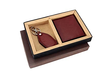 Borse Pack Of 10 Two In One Tan NDM Leather Gents Wallet Key