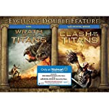Wrath of the Titans DVD / Clash of the Titans (Vudu Digital Movie) EXCLUSIVE DOUBLE FEATURE