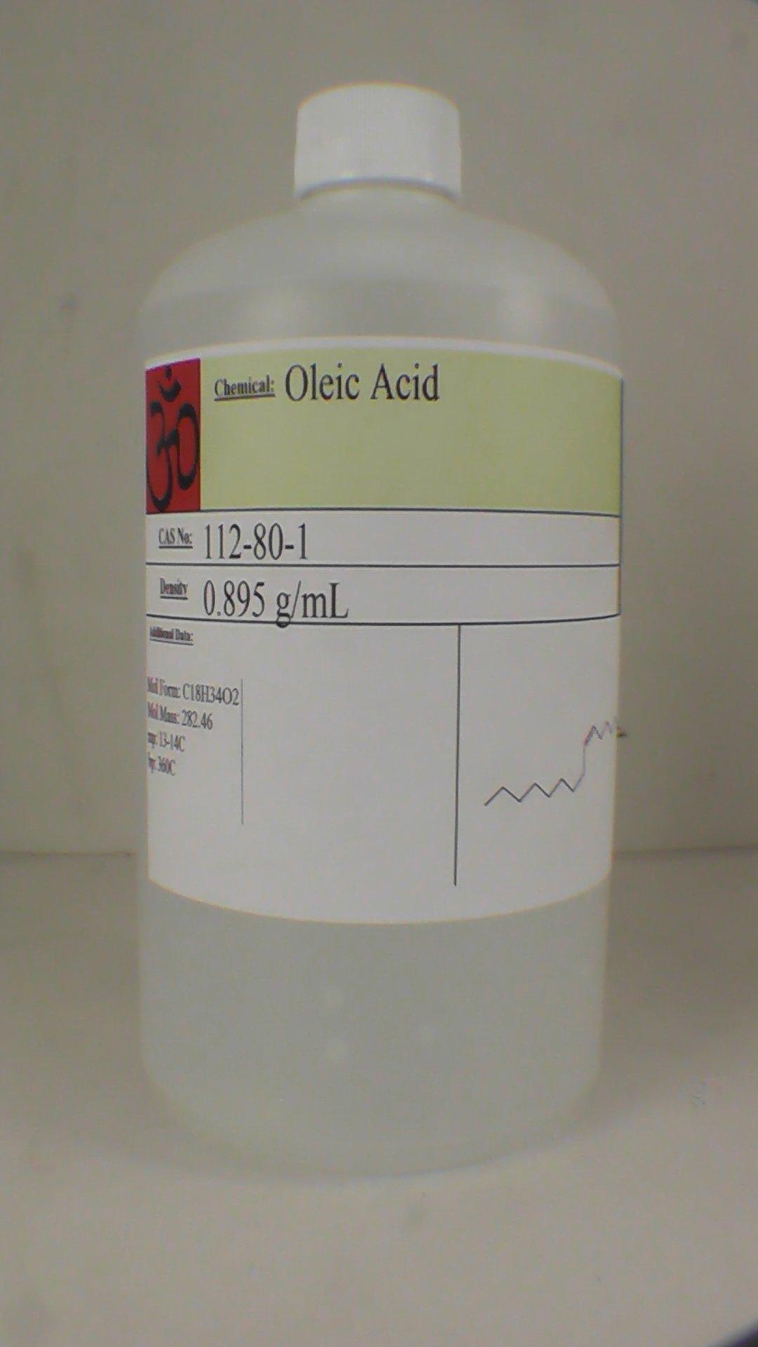 Oleic Acid 1 Quart (32 fl. oz), Manofohm