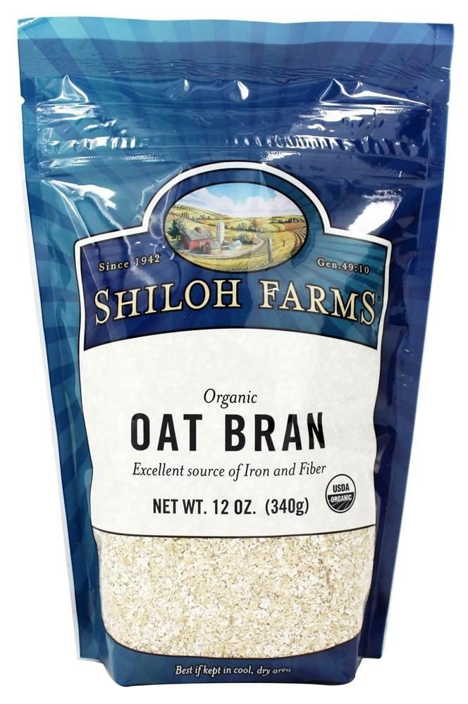 Shiloh Farms - Organic Oat Bran - 12 oz.