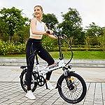 Vivi-Bici-Elettrica-Pieghevole-20-Pollici-Bicicletta-Elettrica-250W-Ebike-Citta-Bici-Elettriche-per-Adulto-con-Batteria-Rimovibile-agli-Ioni-di-Litio-da-36V-8Ah-Shimano-a-7-velocita