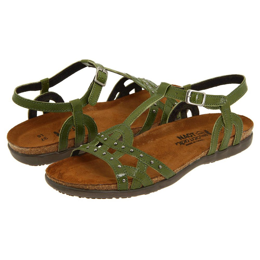 Naot Women's Elinor Sandals B004OSI0QK 35 M EU|Pine Green