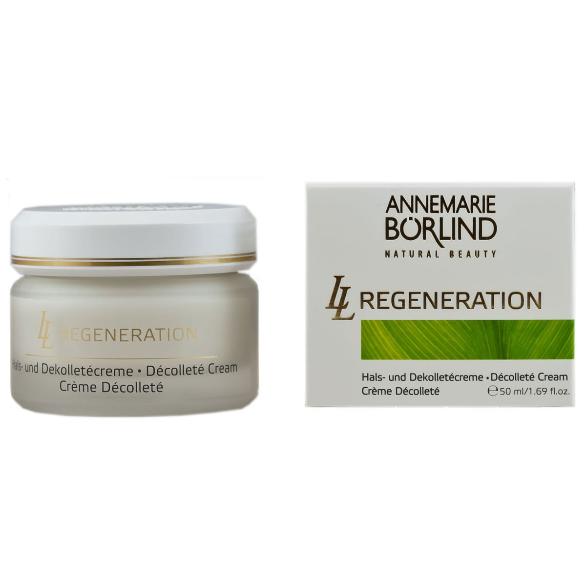 Annemarie Börlind LL Regeneration femme / donna, collo e Dekolletècreme, 1er Pack (1 x 50 ml) 4011061003400