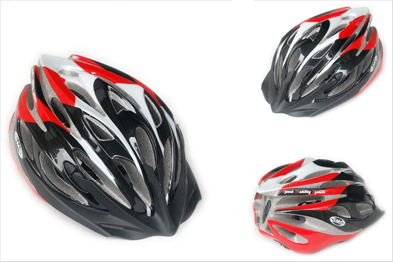 Fahrradhelm Helm,Abnehmbarer Visier 25-Loch-Ventilation Design Verstellbarer Größe Größe Verstellbarer Reithelm 5379d2