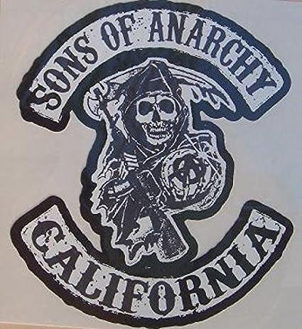 Espace-Biker - Juego de 3 Pegatinas de Sons of Anarchy: Amazon.es: Juguetes y juegos