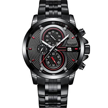 SW Watches GIMTO Relojes para Hombre Reloj De Cuarzo De Lujo con La Mejor Marca Reloj