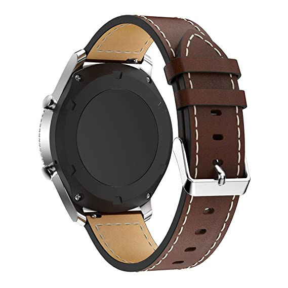 Jewh Leather Watch Bracelet Strap - Strap Band for Samsung Gear S3 - Samsung Leather Watch
